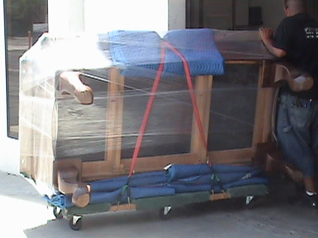 What NOT To Do - How to transport a pool table