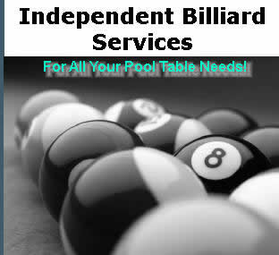 Independent Billiard Services - For All Your Pool Table Needs!