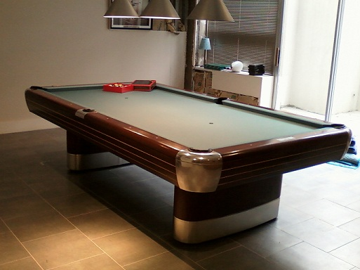Past Jobs Independent Billiard Services Has Done - Brunswick centennial pool table