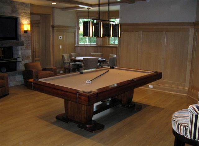 Past Jobs Independent Billiard Services Has Done - Pool table movers ri