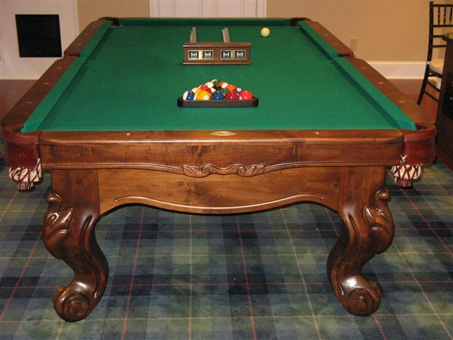 Past Jobs Independent Billiard Services Has Done - Connelly pool table disassembly