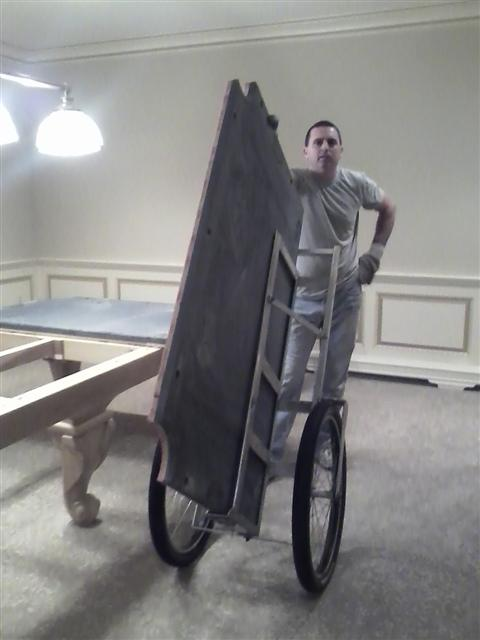 Pool Table Moving CT MA RI VT NH Long Island Metro NY - How to move a slate pool table